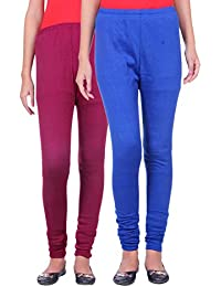 Belmarsh Warm Leggings - Pack of 2 (Mouve_Royal_Blue)