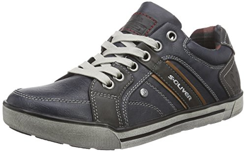 s.Oliver 13600 Herren Sneakers Blau (Navy 805)