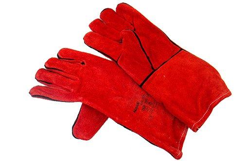 Mauk 1928 1 Paar Schweißhandschuhe Welding Glove AB EN388, Rot, XL
