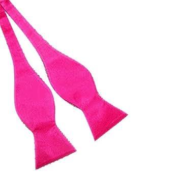 Cravate Noeud Papillon Nouveau Pour Hommes Solide Couleur Soie Couleurs Au Choix (13)
