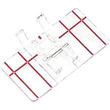 Prensatelas Accesorios para Máquina de coser Matefielduk Patchwork multifuncional Paralelo estándar Pie prensatelas Pieza ...