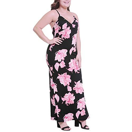 Sommer Damen Sexy Kleid,Sommerkleid Elegant Cocktailkleid Casual Strandkleider Größe...
