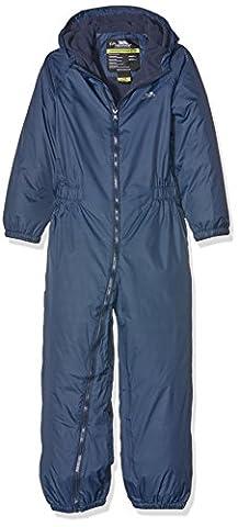 Trespass Kid's Drip Drop Rain Suit - Navy Blue, Size 7/Size 8