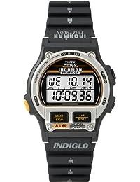 Timex T5H961D7 - Reloj digital de cuarzo para hombre con correa de resina, color negro