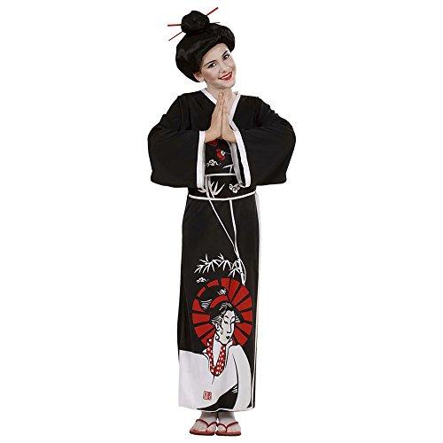 WIDMANN 57368 - Costume da Geisha Giapponese, in Taglia 11/13 Anni