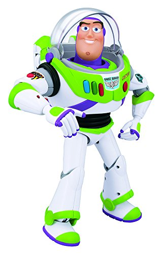 Toy Story   Buzz Lightyear, figura articulada con voz (Bizak 61234070)