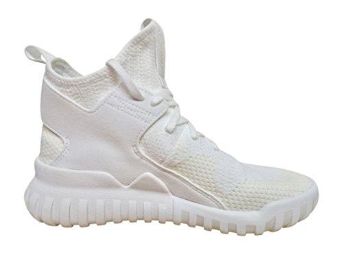 Adidas - Adidas Tubular X Pk Scarpe Sportive Nere Tela FTWWHT/FTWWHT/VINWHT