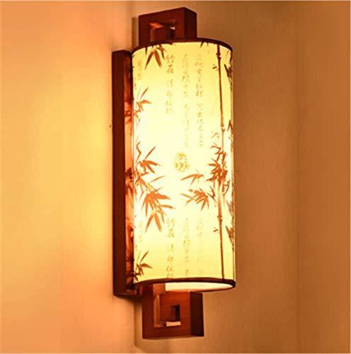 Leselampe Led Wohnzimmer Tv Hintergrund Wand Einfache Warme Antike Massivholztreppe Geheime Clearance Pass Licht