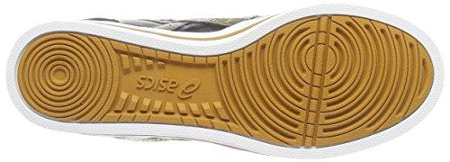 Asics Aaron Mt, Unisex-Erwachsene Sneakers Schwarz (black/olive 9086)