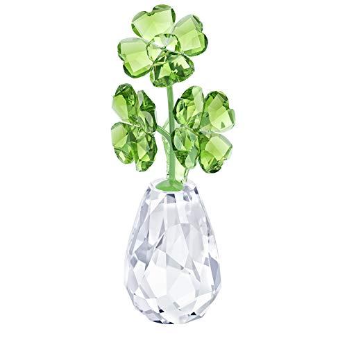 Swarovski flower dreams-four-leaf clovers, cristallo, multicolore, 6,7 x 2,5 x 3 cm