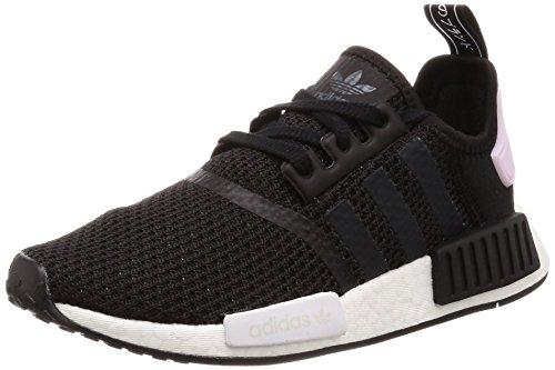 adidas Damen NMD_R1 Gymnastikschuhe, Mehrfarbig (Black Cblack/Ftwwht/Clpink), 37 1/3 EU