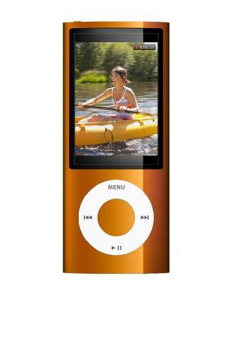 Apple iPod Nano MP3-Player mit Kamera orange 16 GB (Ipod Nano 5 16)