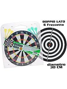 TEOREMA 50010-Juegos Diana 30cm y 6Flechas