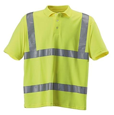 Blackrock Men's Hi-Vis Polo T-Shirt Yellow EN471 Class