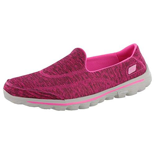 Skechers Go-Weg 2 Upbeat Damen-Walking-Schuhe Hot Pink