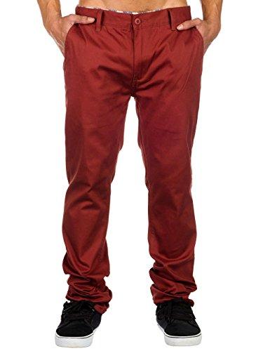 Emerica Reynolds Pantalon chino coupe slim pour homme Braun - Rust