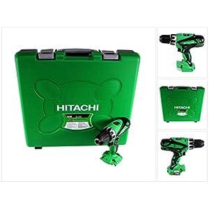 Hitachi DV 18 DGL 55 Nm – Taladro atornillador de percusión con batería (18 V, en maletín de transporte, sin batería ni cargador)
