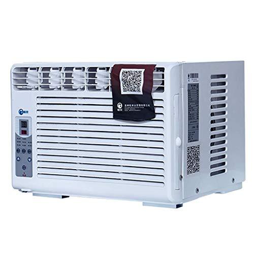 Climatiseur Compact Monté sur FenêTre 220v, Filtre à Air, avec DéShumidificateur Et TéLéCommande, Blanc-42 * 36 * 30cm