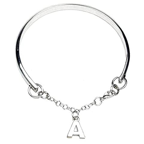 Cœur à cœur Bracelet charm poinçonné argent sterling pour Demoiselles d'honneur–Gravure et personnalisé gratuit Box Ribbon–12mois de