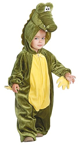 Baby Krokodil - Kostüm für Kinder Gr. 86 - 98, ()
