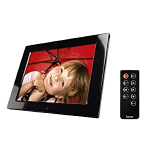 Hama Digitaler Bilderrahmen Premium (30,7 cm (12,1 Zoll) Display, CF/SD/SDHC/MMC/MS-Card, Bildrotation) inkl. Fernbedienung
