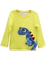 Sweatshirt Baby Shirt Fleecepullover verdicken langarm Babykleidung für Jungen Mädchen Vine