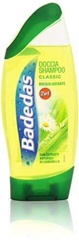 Badedas - Doccia Shampoo, Classic, Riequilibrante, con Estratti Naturali di Camomilla - 250 ml