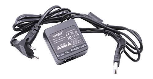 vhbw 220 V Ladegerät, Ladekabel, Netzteil für Kamera Casio Exilim EX-Z690, EX-Z3000, EX-ZS5, EX-ZS6, EX-ZS12, EX-ZS20 wie AD-C53. Exilim Digital-batterie
