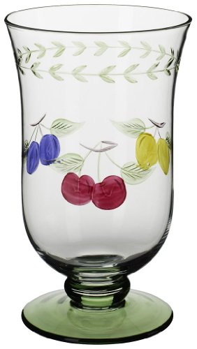 Villeroy & Boch French Garden Accessoires Becher, 4er-Set, 600 ml, Glas, Klar/Bunt