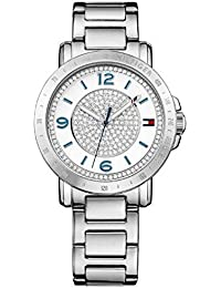 Tommy Hilfiger Damen-Armbanduhr Analog Quarz Edelstahl 1781622