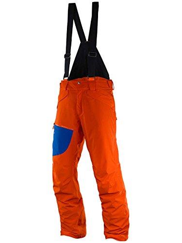 Salomon Chill Out Bib M - Pantalone da sci da Uomo, colore Arancione, taglia M / R