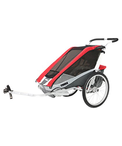 Thule Chariot Cougar 2 Sitzer Rot