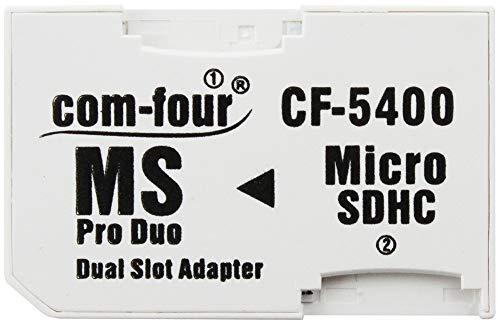 Com-four® Adaptador Tarjeta Memoria Micro SDHC MS