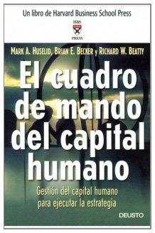 El Cuadro de Mando del capital humano: Gestión del capital humano para ejecutar la estrategia
