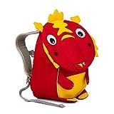 Affenzahn Kinder-Rucksack mit Brustgurt für Jungen und Mädchen im Kindergarten oder Kita der Kleine Freund, Dario Drache - Rot, 1-3 Jahre - Kleiner Freund