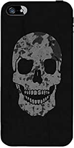 Snoogg Skull Designer Protective Back Case Cover Forforapple Iphone 5C / Ipho...