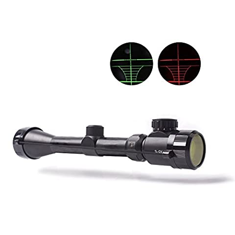 BNZHome Rifle Scope Hunting Tactical 3-9x40EG Scopes Rapid Range Reticle