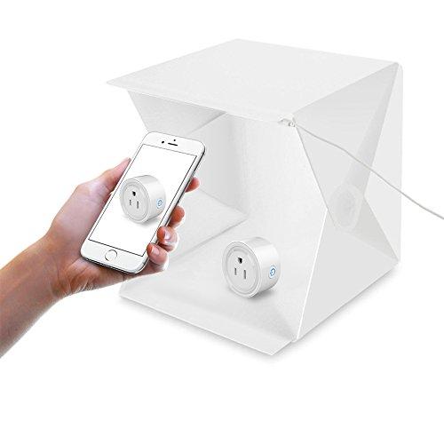Aufnahmetische & Lichtwürfel Fotostudio-zubehör Jhs-tech Kleine Faltbare Led Lichtbox Sof Mini Tragbares Fotostudio Schießzelt