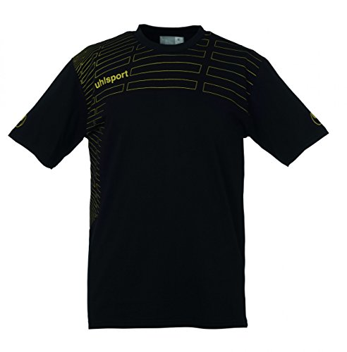 uhlsport Herren Match Training T-Shirt schwarz-gold