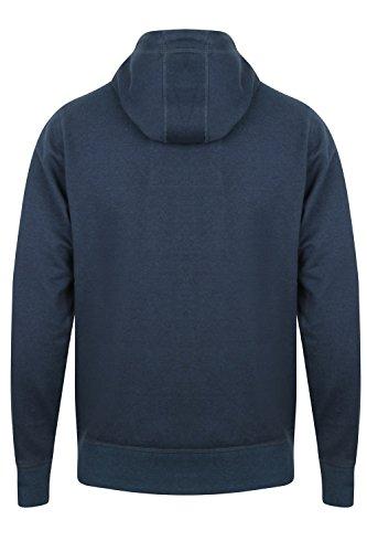 Tokyo Laundry Herren Jumper Kapuzenpullover blau blau Small Snohaus -Dark Denim/Black