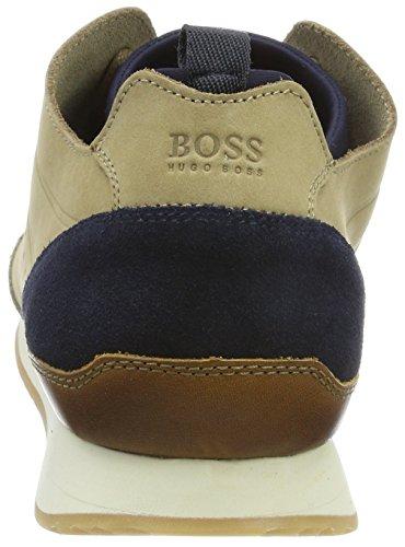 Boss Orange Adrenal_Runn_nuun1, Sneakers Basses Homme Beige (Medium Beige)
