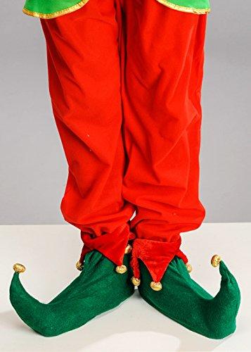 Deluxe Adult Weihnachten spitzen Elf Schuhe