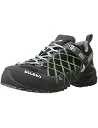 Salewa Damen WS Ultra Train Gore-Tex Trekking-& Wanderhalbschuhe, Mehrfarbig (Dark Denim/Aruba Blue), 43 EU