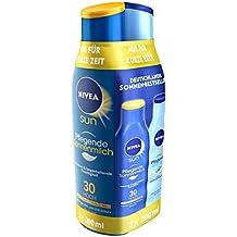 Nivea Sun Urlaubsset, Pflegende Sonnenmilch & After Sun Lotion, 1er Pack (2 x 200ml)