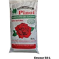 PINOT Turba sustrato de Cultivo Humus Corteza Pino 50 L substrato Premium