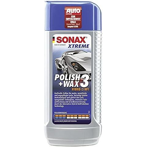 Sonax 02021000-544 Xtreme Polish & Cera Abrillantador, 3250 ml