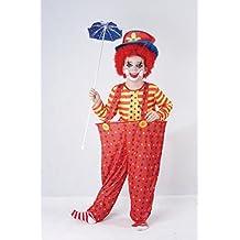Child - Disfraz de payaso infantil, talla 7 - 9 años (CC857)