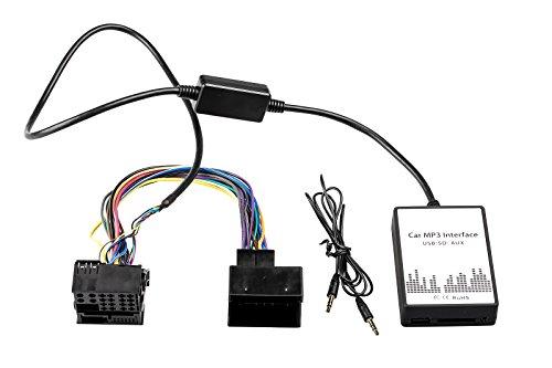 USB Aux MP3 Adapter Business SD Interface CD Wechsler 40P Business-usb-adapter