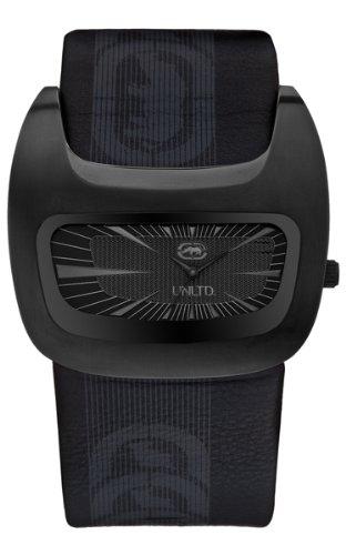 Marc Ecko E16077G2S - Reloj de pulsera para hombre, negro/plata