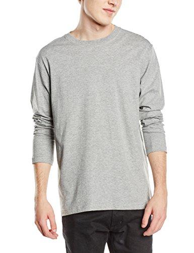 Stedman Apparel - Comfort-t Long Sleeve/St2130, T-Shirt Uomo Grigio